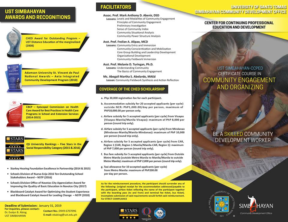 BROCHURE - Simbahayan 2nd batch p 1 of 2