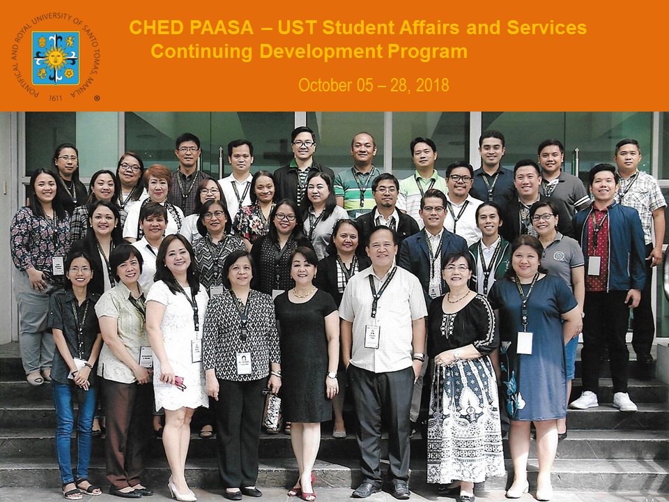 GROUP PIC - CHED PAASA 1st Cycle
