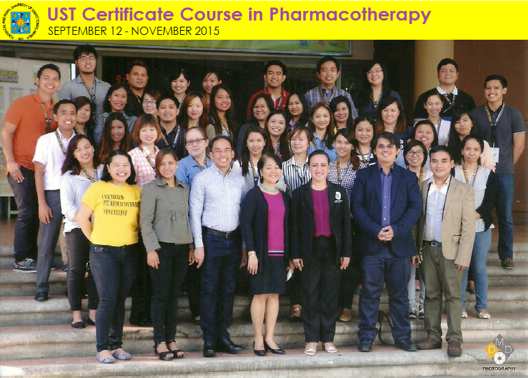 GROUP PIC - UST Certificate Course in Pharmacotherapy