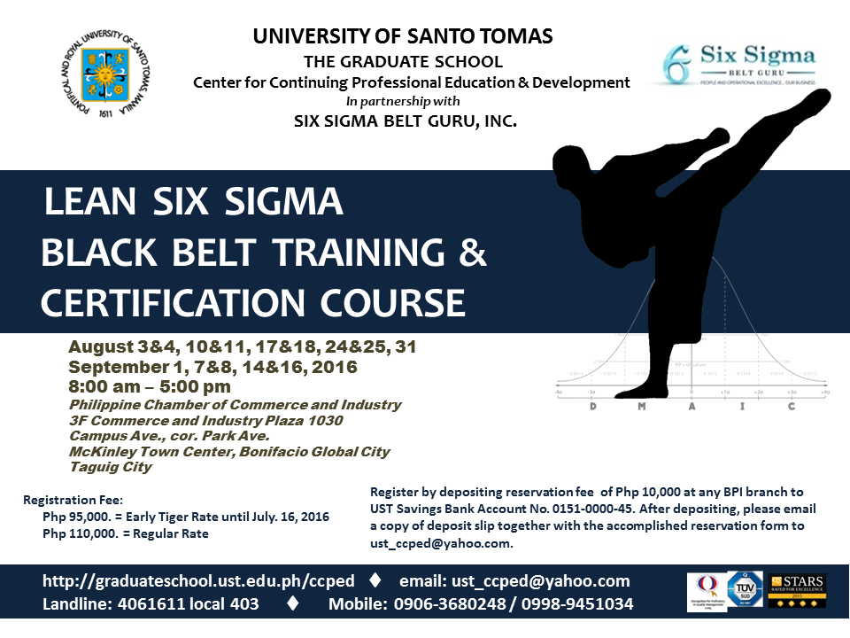 POSTER - LSS Black Belt Training