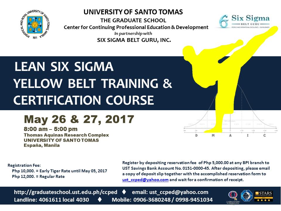 Lean Six Sigma Certification Executive Education Inducedfo