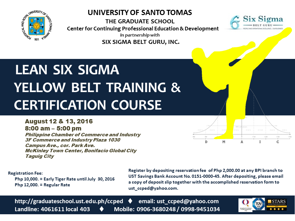 POSTER - LSS Yellow Belt Training