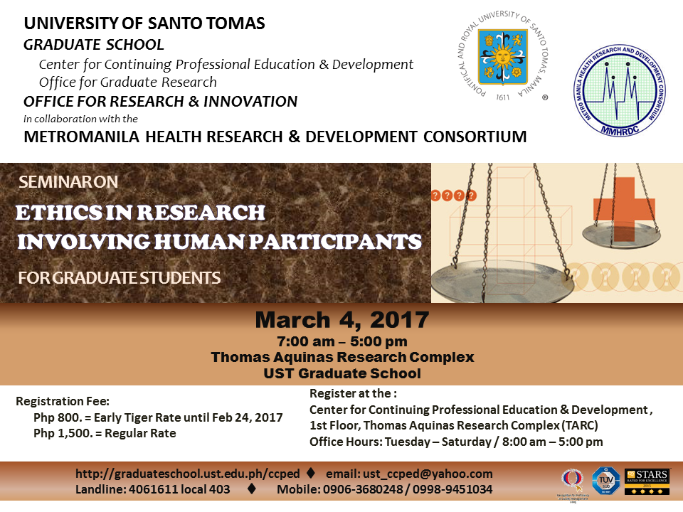 POSTER - research ethics march 4 2017