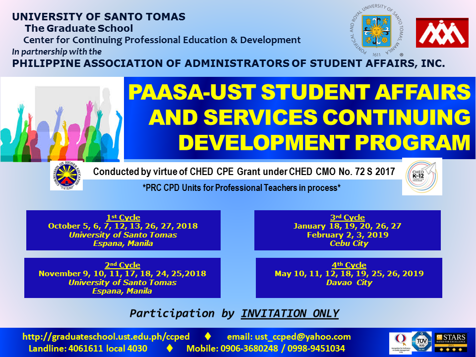 POSTERS - CHED PAASA