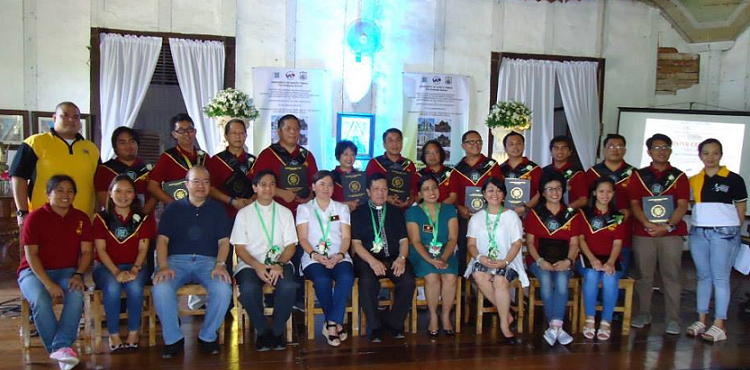 Congratulations to the UAP-UST Certified Heritage Conservation Specialists (CHCS) graduates of Tagbilaran, Bohol, held last July 07, 2015, at the Convento of Dauis Church, Panglao Island, Bohol. TOP GRADUATE: Ar. German R. Torero