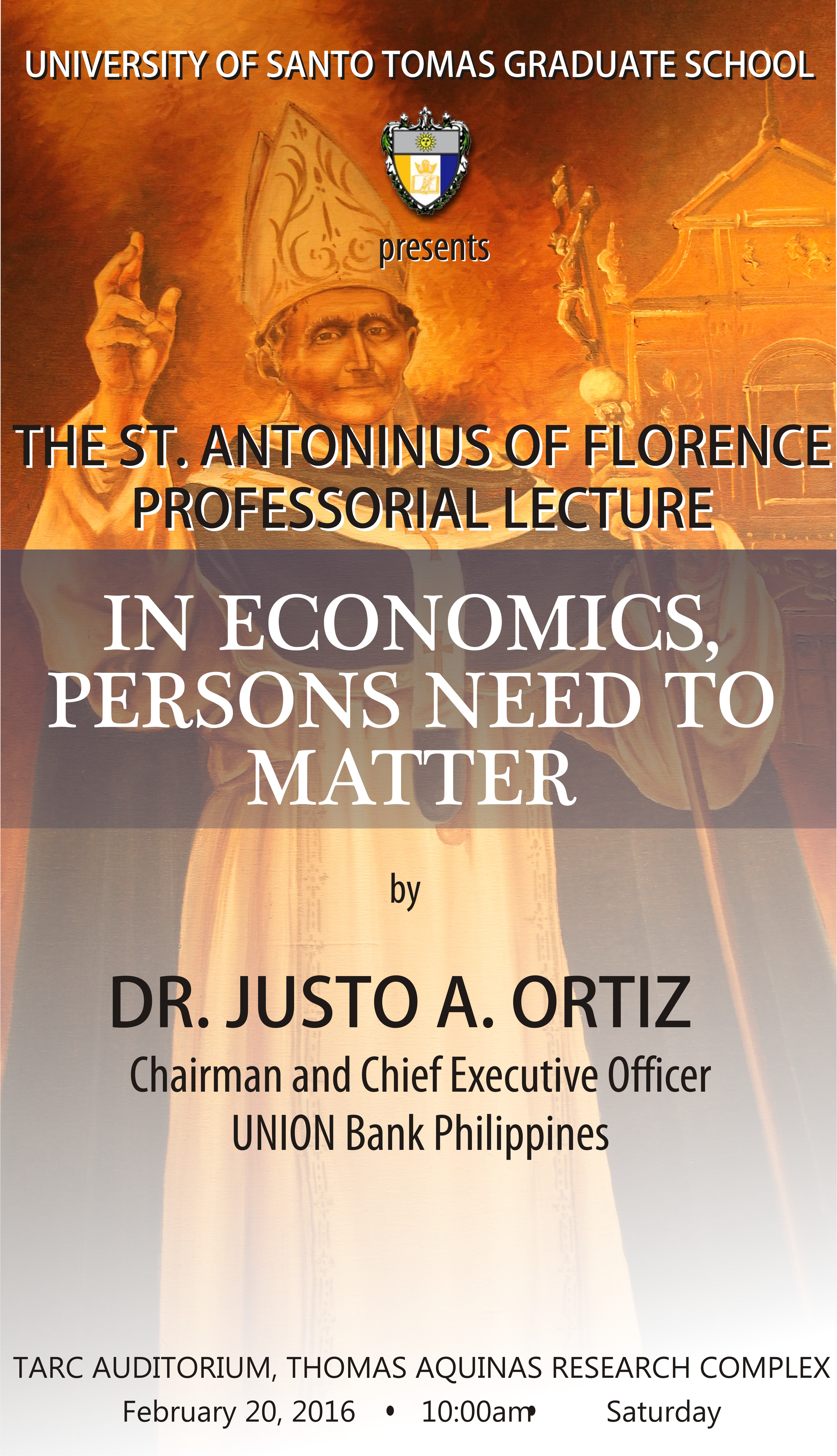 St. Antoninus of Florence Professorial Lecture