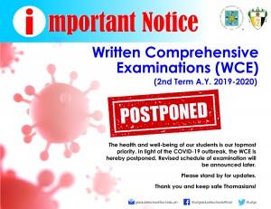 wce postponed
