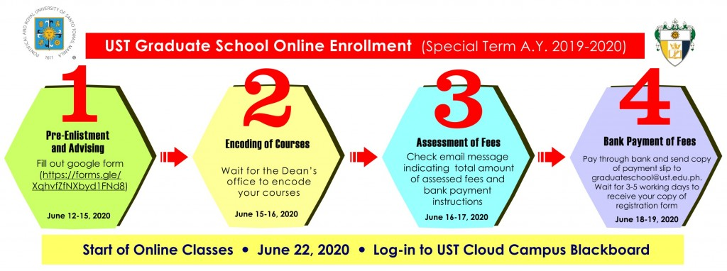 online enrollment special term ay 2019-2020